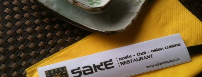 Sake - Sushi & Thai Restaurant is one of Vietnam v Praze.