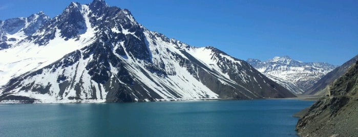 Embalse El Yeso is one of Tempat yang Disukai Isidora.