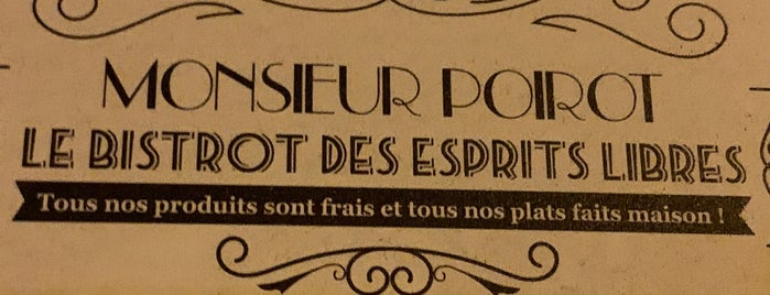 Monsieur Poirot is one of Restaurants.