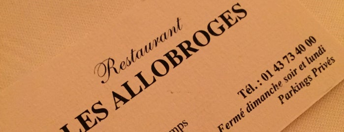 Les Allobroges is one of Mathieu'nun Beğendiği Mekanlar.
