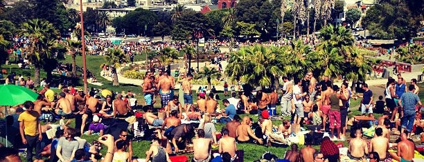 Mission Dolores Park is one of California here we come.
