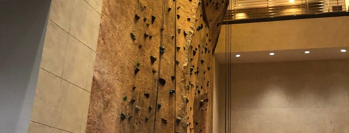 Canyon Ranch SpaClub Gym is one of Tempat yang Disukai Chris.