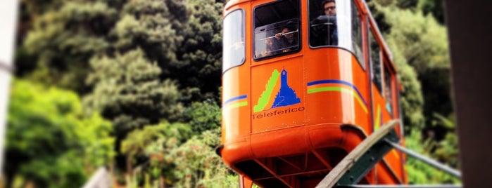 Monserrate is one of Bogota.
