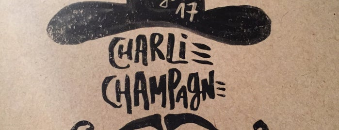 Charlie Champagne is one of Madrid - Restaurantes.