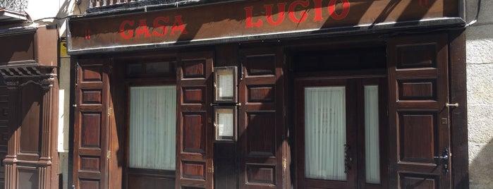 Casa Lucio is one of Madrid - Restaurantes.