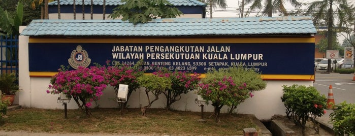 Jabatan Pengangkutan Jalan (JPJ) is one of Malaysia.
