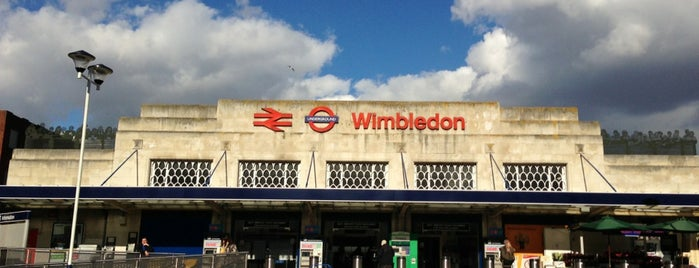 Wimbledon Railway Station (WIM) is one of Spring Famous London Story.