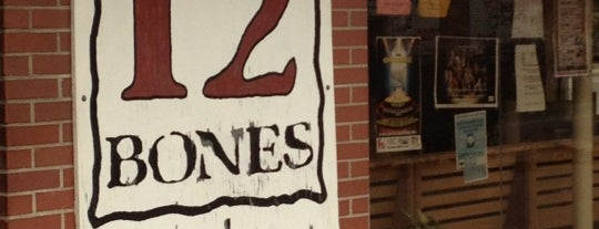 12 Bones Smokehouse is one of Dan's Eats.