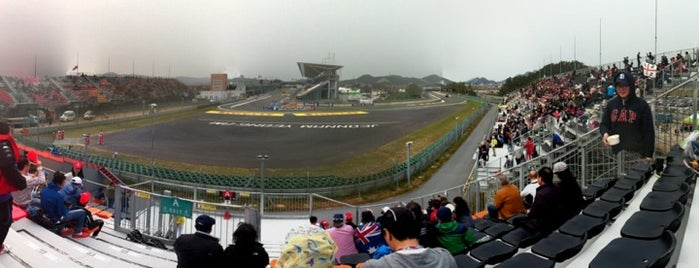Korea International Circuit is one of Formula 1 Tracks.