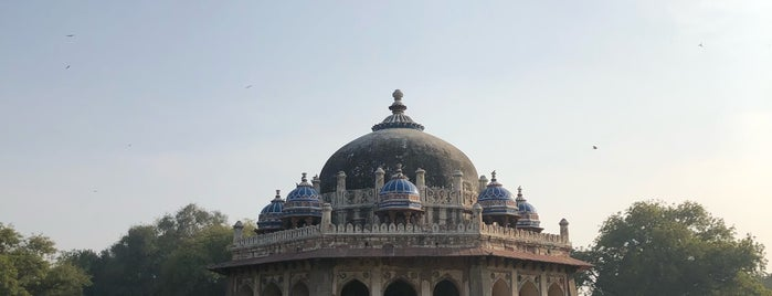 ISA KHAN'S GARDEN TOMB is one of INDIA.