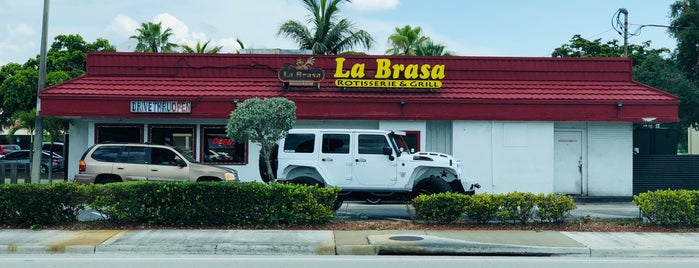 La Brasa is one of home.