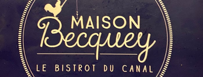 Maison Becquey is one of Paris Resto.