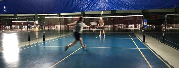 สนามแบดมินตันบีจีสปอร์ต (BG Sport) is one of Badminton Court.
