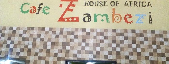 Zambezi Cafe is one of Kat's Liked Places.