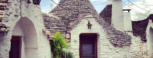 Alberobello is one of South Italy.