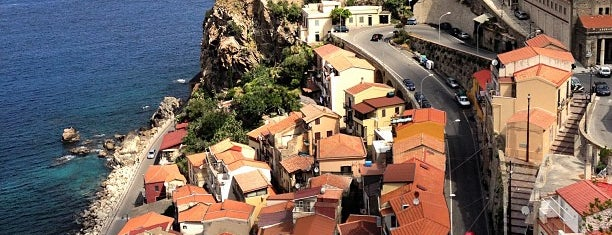 Castello Ruffo di Scilla is one of South Italy.