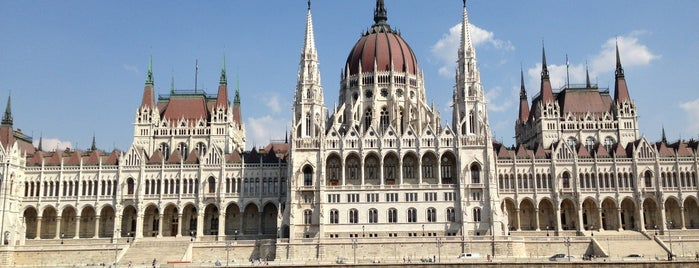 Parlament is one of Budapest.
