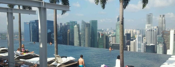 Sands SkyPark is one of Les plus beaux rooftops !.