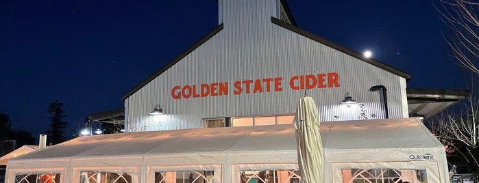 Golden State Cider Taproom is one of CA Northern Breweries.
