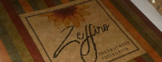 Zeffiro Restaurante is one of Restaurantes no centro (ou quase).