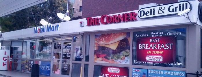 The Corner Deli & Grill is one of CALIFORNIA\VEGAS_ME List.