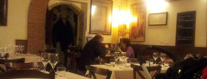 """Osteria """"La Gensola"""" is one of ROMA."""