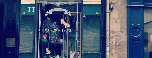 Maison Kitsuné is one of Paris // For Foreign Friends.