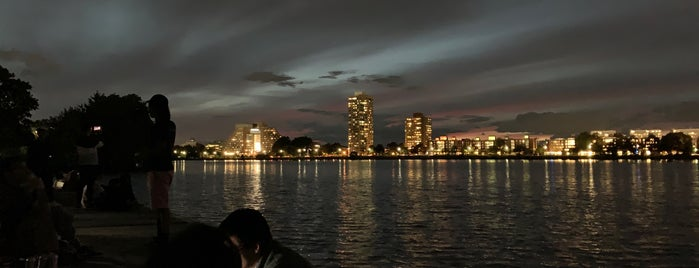 Charles River Esplanade is one of Boston.