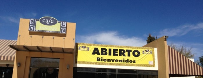 Santa Fe Cafe is one of Tempat yang Disukai Jorge.