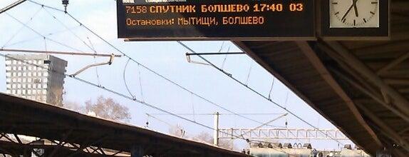Ж/д станция «Лосиноостровская» is one of Марина 님이 좋아한 장소.