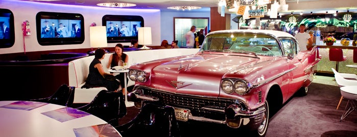 The Pink Cadillac is one of food.