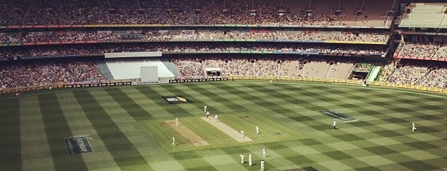 Melbourne Cricket Ground (MCG) is one of Magnificent Melbourne.