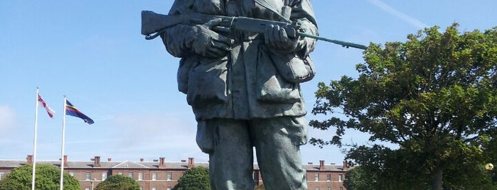 Royal Marines Museum is one of Portsmouth.