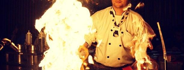 Kobe Japanese Steakhouse - New Tampa is one of Orte, die Bayana gefallen.
