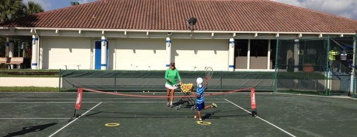 Swim & Tennis Center Boca Raton is one of Florida.