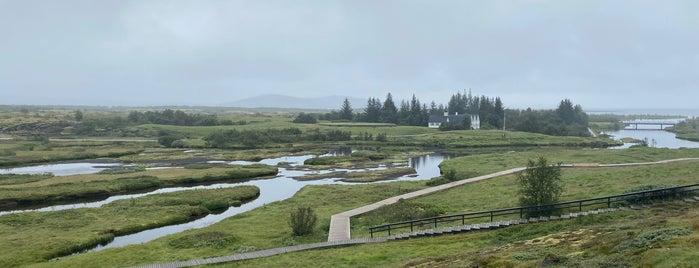 Þingvellir National Park is one of Iceland.