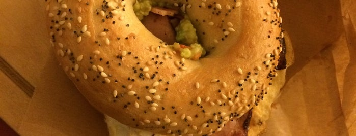 Big Bad Bagels is one of Riga.