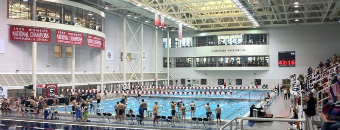 Gabrielsen Natatorium is one of #FitBy4sqDay Tips.