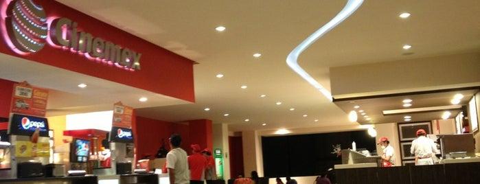 Cinemex is one of Tempat yang Disukai Monserrat.