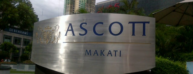 Ascott Makati is one of Lugares favoritos de Shank.