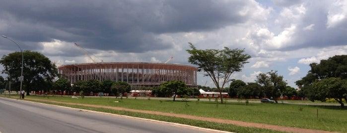 Estádio Nacional de Brasília Mané Garrincha is one of BSB.