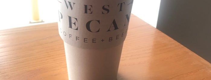 West Pecan Coffee And Beer is one of Lieux sauvegardés par Nova.