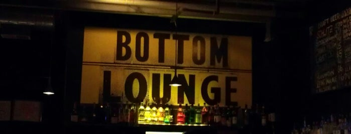Bottom Lounge is one of Official Blackhawks Bars.