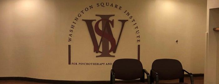 Washington Square Institute is one of Lieux sauvegardés par JULIE.