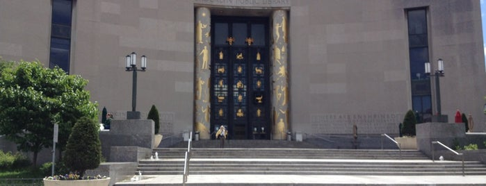 Brooklyn Public Library (Central Library) is one of Elsewhere In Brooklyn....