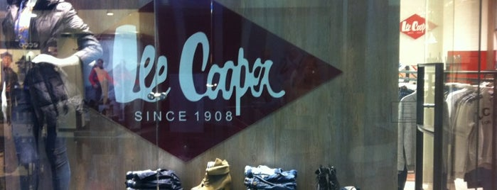 Lee Cooper is one of Lieux qui ont plu à Виктор.