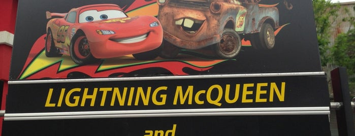 Team McQueen: Cars Meet and Greet is one of My vacation @ FL2.