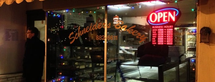 Schneiders Bakery is one of Lugares guardados de Vincent.