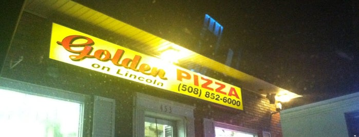 Golden Pizza is one of MA.