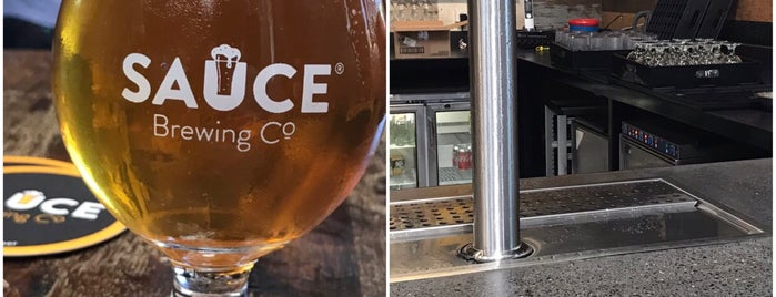 Sauce Brewing Co is one of Sydney, NSW.